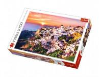Puzzle Západ Slunce na Santorini 1000 dílků