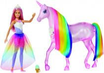 Barbie kouzelný jednorožec a panenka