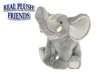 Slon plyšový 23 cm sedící