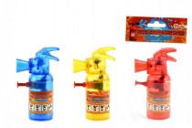 Vodní pistole hasící přístroj plast 11cm - mix barev