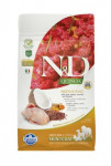 N&D GF Quinoa DOG Skin&Coat Quail & Coconut 800g