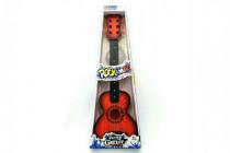 Kytara s trsátkem plast 65cm - mix barev