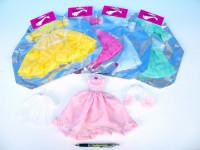 Šaty/Oblečky na panenky v sáčku 27x30cm - mix variant či barev