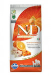 N&D Grain Free Dog Adult M/L Pumpkin Codfish & Orange 12 kg