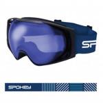 Spokey DENNY lyžařské brýle šedo-bílé