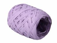 Stuha RAFIA vajíčko světle fialová šířka 12,5mm délka 20m