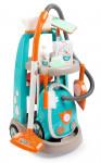 Vozík pro malou uklízečku s vysavačem