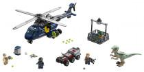 Lego Jurassic World 75928 Pronásledování Bluea helikop..