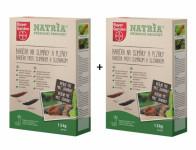 Bariéra NATRIA na slimáky a plzáky 1,5kg 2 ks