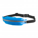 Spokey TURBO Ledvinka na běhání modrá nepromokavá s reflexními prvky