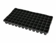 Sadbovač MINI JP plastový černý 4x4cm 72ks