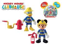 Mickey Mouse a Donald figurky záchranáři kloubové 8 cm 2 ks s doplňky