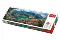 Puzzle Kotor, Montenegro panorama 500 dílků 66x23,7cm