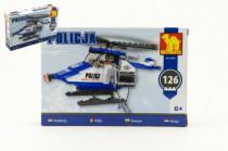 Stavebnice Dromader Policie Vrtulník 23401