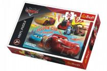 Puzzle Cars 3/Auta koláž 27x20cm 30 dílků