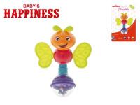 Chrastítko brouček 13 cm Baby´s Happiness