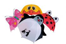 Dětský deštník zvířátka  délka 56cm - mix variant či barev