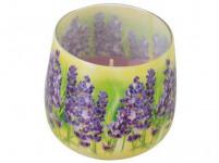 svíčka vonná sklo LEVANDULE 100g (hoří 20hod)