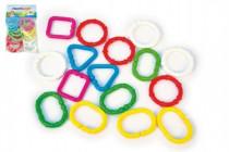 Řetěz/zábrana tvary plast 7cm 3m+