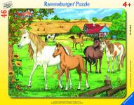 Ravensburger puzzle Koně 30-48 dílků