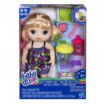 Baby Alive Blonďatá panenka s mixérem - VÝPRODEJ