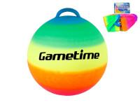Skákací míč duhový 55 cm
