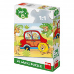 Puzzle 24 dílků: maxi Safari