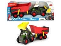 Happy Traktor s přívěsem 65cm