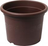 Plastia obal Narcis - čokoládový 15 cm