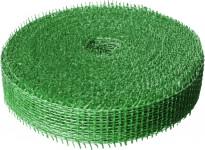 Jutová stuha 4 cm x 25 m - světle zelená
