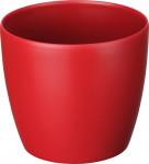 Elho obal Brussels Classic - lovely red 14 cm