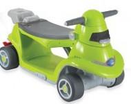 Odrážedlo auto All in one zelené