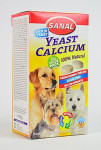 Sanal pes YEAST CALCIUM kalciové tablety 400tbl/4x100g