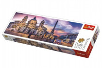 Puzzle Piazza Navona, Řím panorama 500 dílků 66x23,7cm