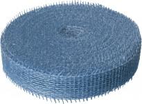 Jutová stuha 4 cm x 25 m - světle modrá