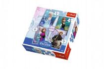 Puzzle 4v1 Ledové království/Frozen