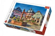 Puzzle Tržište Heppenheim 3000 dílků 116x85cm