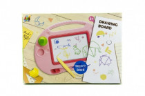 Magnetická tabulka kreslící plast - mix barev