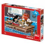 Puzzle 24 dílků Krtek a orel