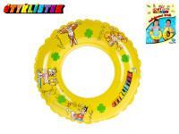 Kruh Čtyřlístek transparentní 40 cm