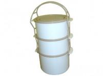 jídlonosič COMBI 2x1,0 + 1,5l plastový
