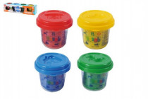 Modelína/Plastelína v kelímku 4x56g mix barev
