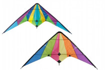 Drak létající nylon 160x80cm - mix barev