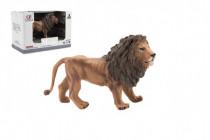 Zvířátka safari ZOO 13cm lev plast