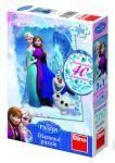 Puzzle Ledové království/Frozen 33x47cm 200 dílků diamanty+lepidlo