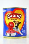 GRAND konz. pes mas.směs 850g