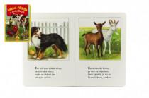 Knížka - Lidová říkadla o zvířátkách 16x23cm