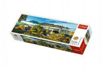 Puzzle jezero Schliersee panoramic 1000 dílků 97x34cm