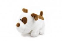 Mazlící plyšové zvířátko - Pes Big Mouth 1. 20 cm