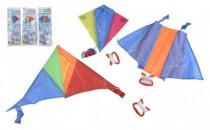 Drak létající nylon 45x25cm/25x28cm/46x28cm barevný